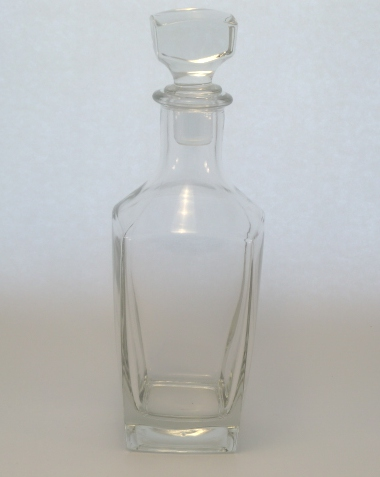 Sterling Carafe Clear Glass With Cork, 70cl