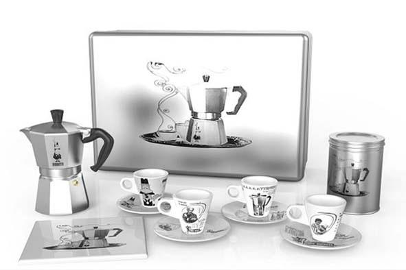 Moka Express Coffee set + box