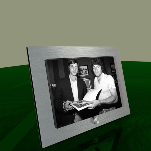 Dibond Photo frame with metal support