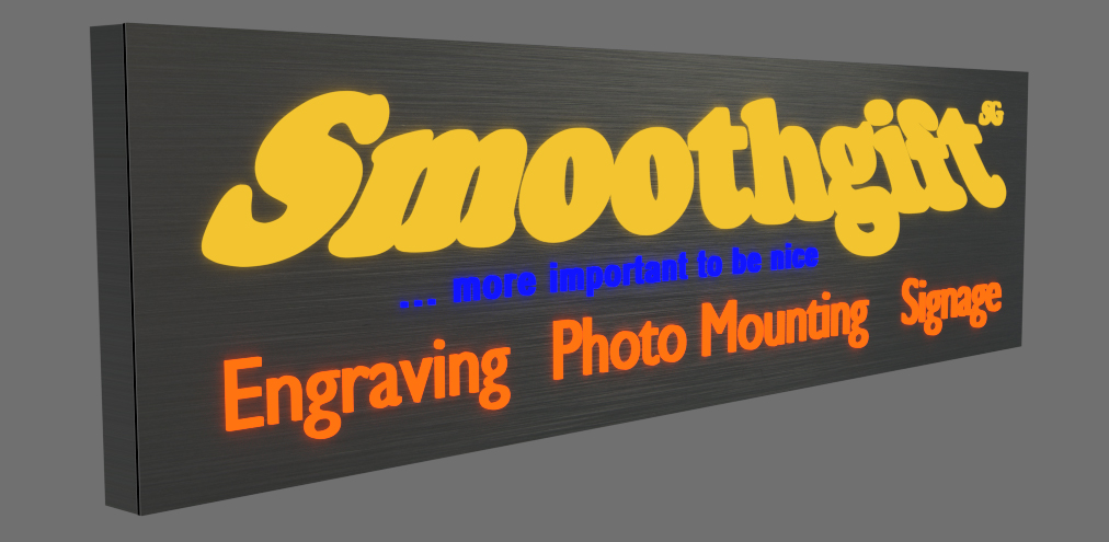 LED Business sign