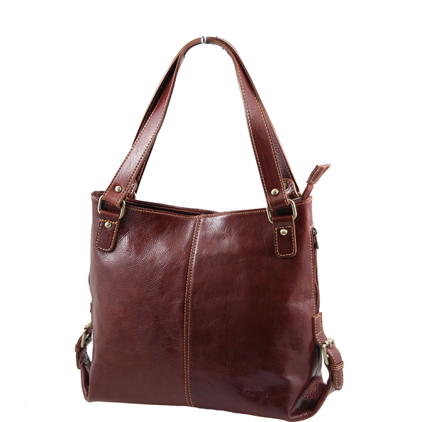 Authentic Italian Leather Lady Bag - Charlotte