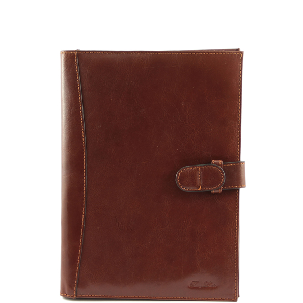 Exclusive Leather Portfolio - Colour  Brown (Socrate)